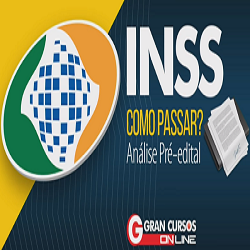 cff8cabcae Cupom de desconto Concurso INSS com 30% de desconto na Gran Cursos. - Maio  2019