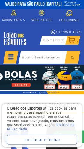 85e9b8e59 Cupom de desconto Lojão dos esportes   até 45% OFF + Código ...
